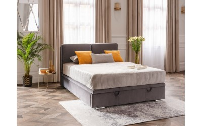 Łóżko Sempre kontynentalne slim