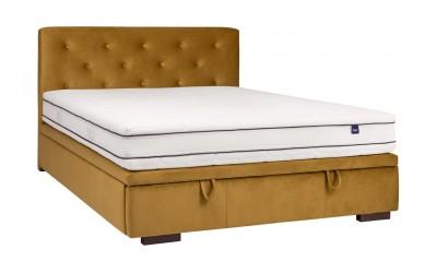 Łóżko Milos kontynentalne slim