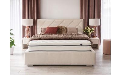 Łóżko Nastri z pojemnikiem na pościel